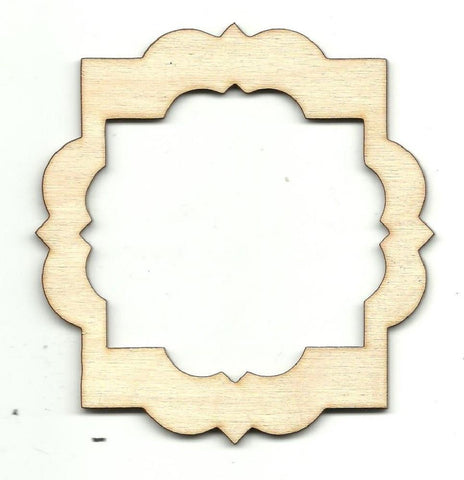 Frame - Laser Cut Wood Shape Frm33 Craft Supply