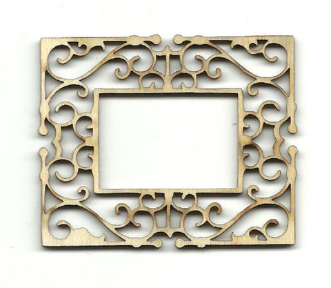 Frame - Laser Cut Wood Shape Frm3 Craft Supply