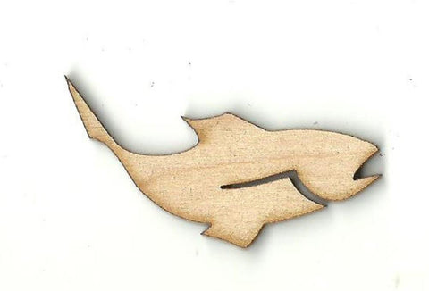 Fish - Laser Cut Wood Shape Fsh16 Craft Supply
