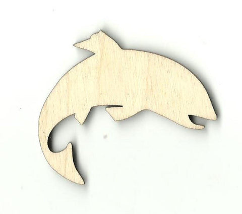 Fish - Laser Cut Wood Shape Fsh30 Craft Supply