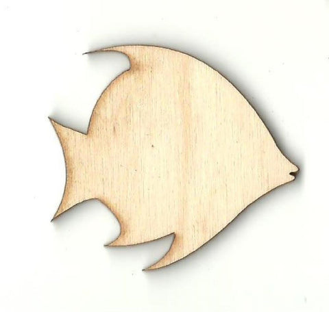 Fish - Laser Cut Wood Shape Fsh24 Craft Supply