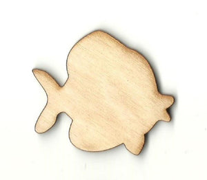Fish - Laser Cut Wood Shape Fsh25 Craft Supply