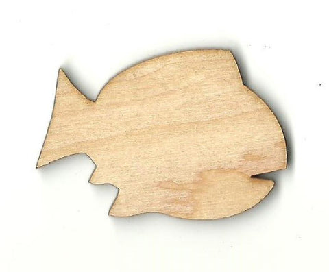 Fish - Laser Cut Wood Shape Fsh26 Craft Supply