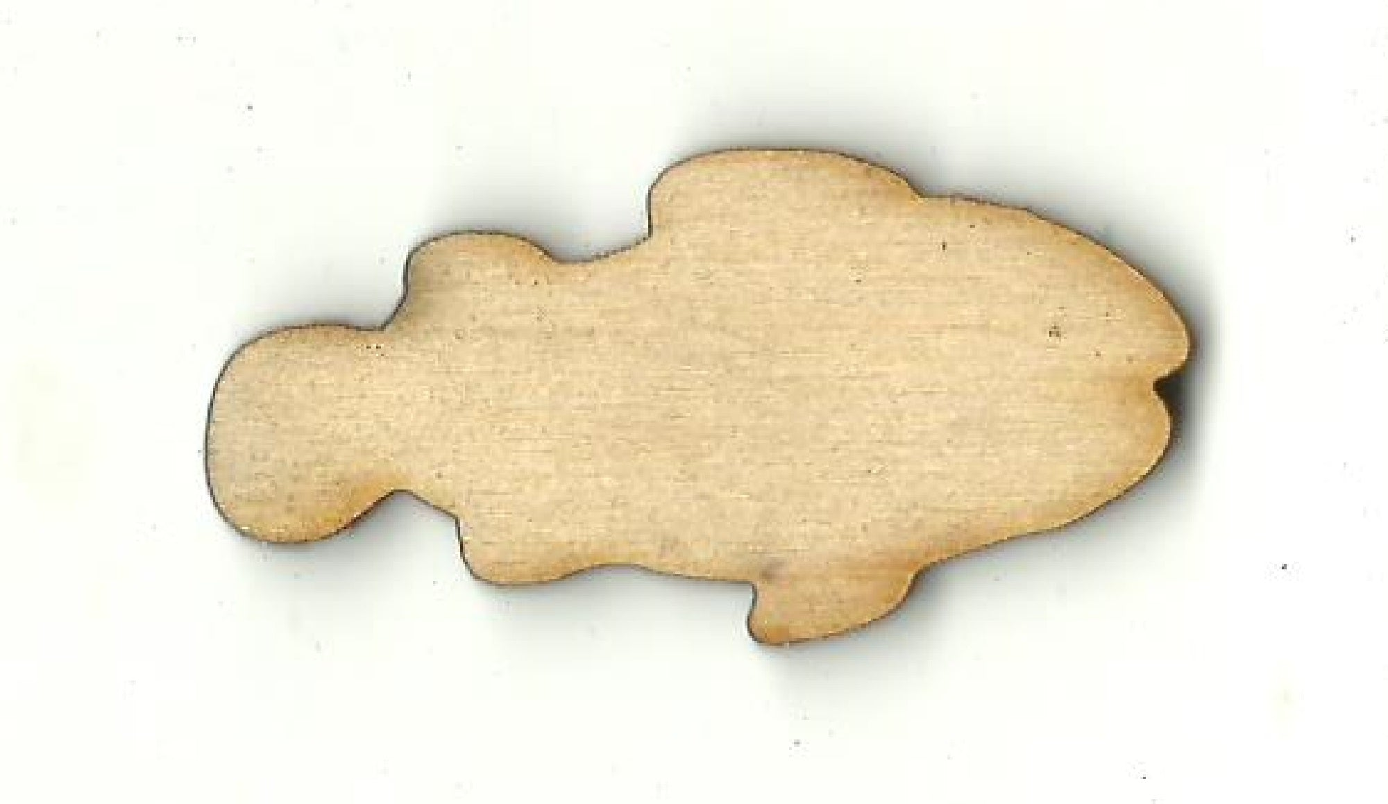 Fish - Laser Cut Wood Shape FSH55