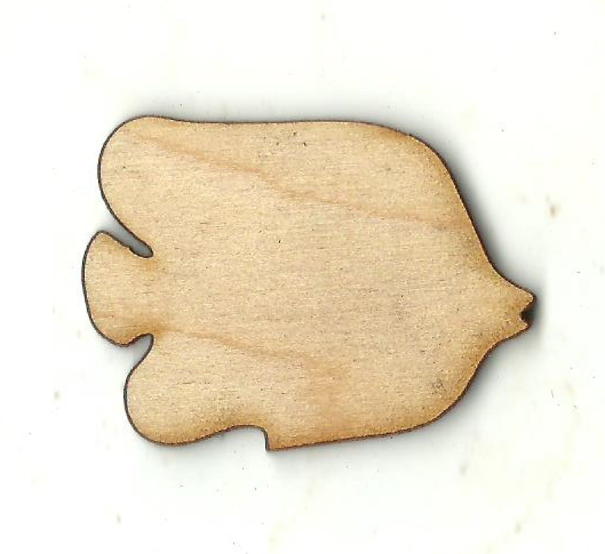 Fish - Laser Cut Wood Shape FSH56