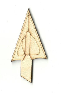 Arrow Tip - Laser Cut Wood Shape Hnt12 Craft Supply