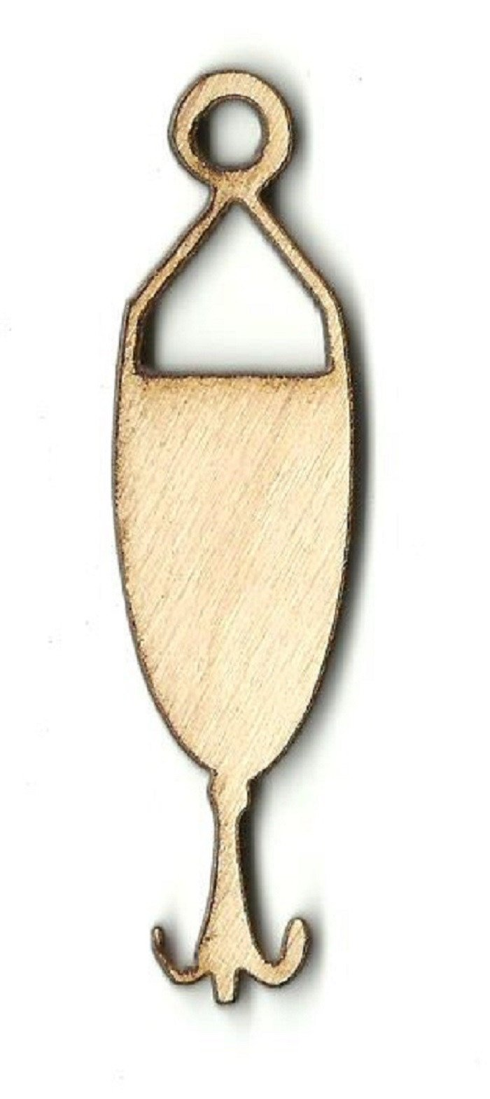 Fishing Lure - Laser Cut Wood Shape Hnt5 Craft Supply