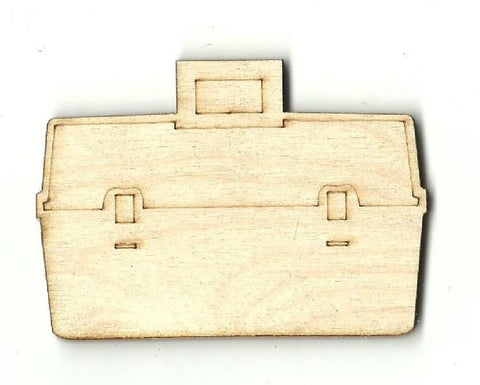 Tackle Box - Laser Cut Wood Shape Hnt8 Craft Supply