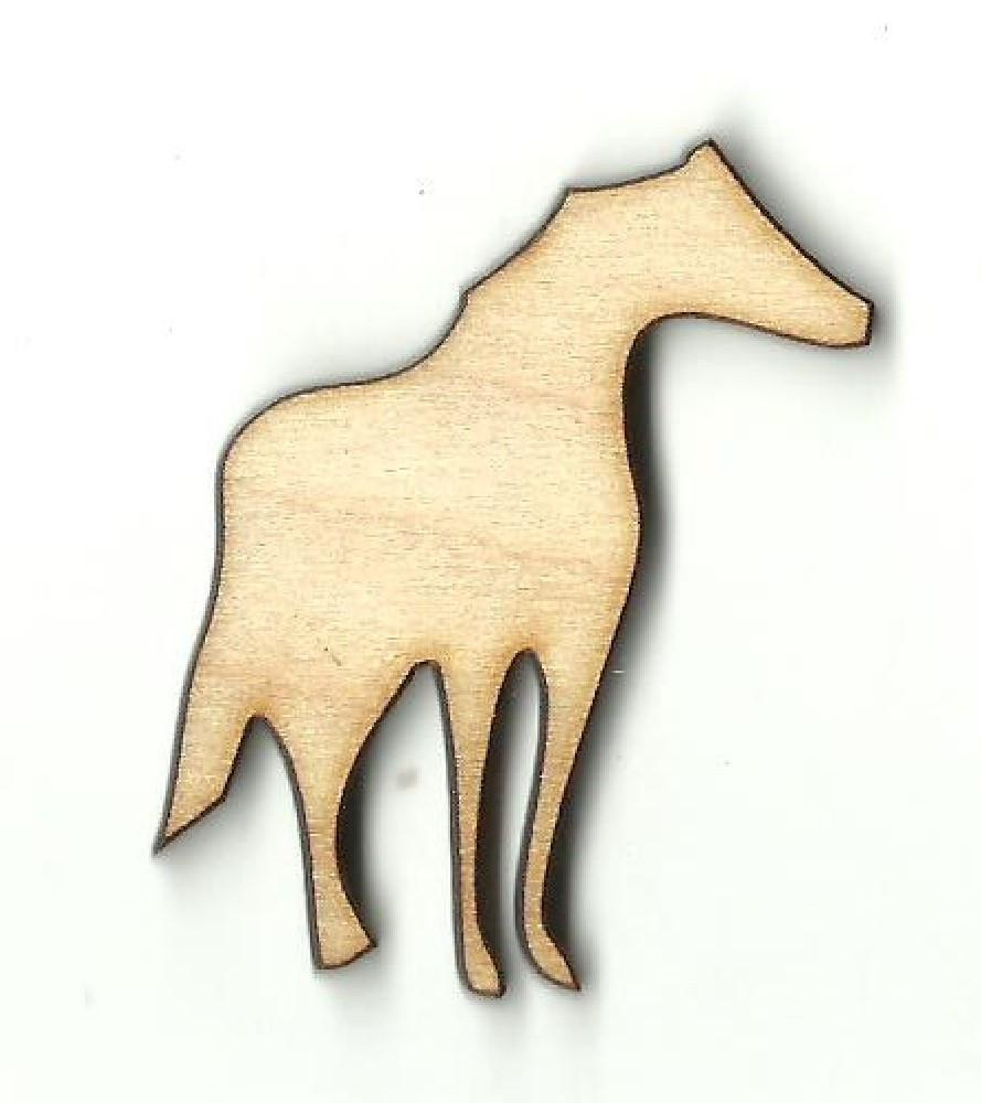 Horse - Laser Cut Wood Shape Hrs30 Craft Supply