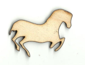 Horse - Laser Cut Wood Shape Hrs28 Craft Supply