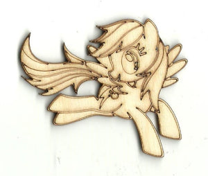 Horse - Laser Cut Wood Shape Hrs5 Craft Supply