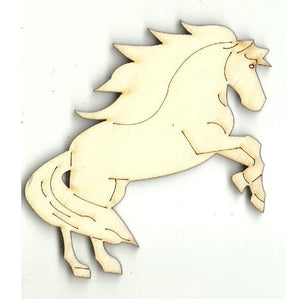 Horse - Laser Cut Wood Shape Hrs67 Craft Supply