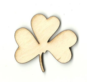 Clover - Laser Cut Wood Shape Lef26 Craft Supply
