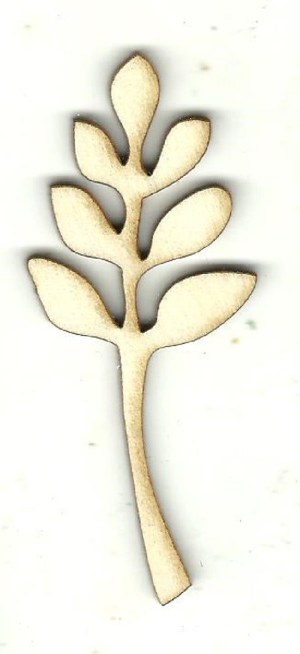 Leaf - Laser Cut Wood Shape Lef40 Craft Supply