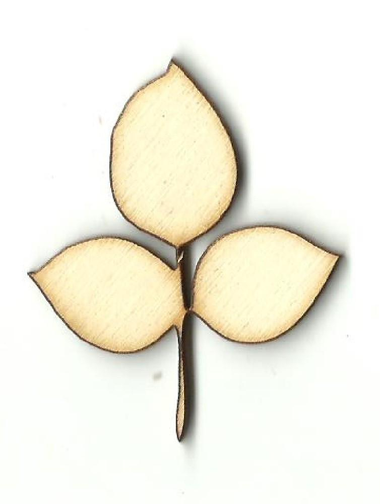 Leaf - Laser Cut Wood Shape Lef28 Craft Supply