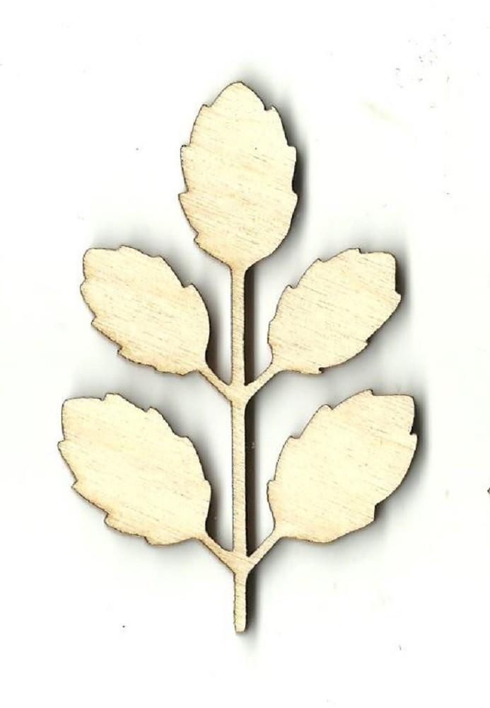 Leaf - Laser Cut Wood Shape Lef9 Craft Supply