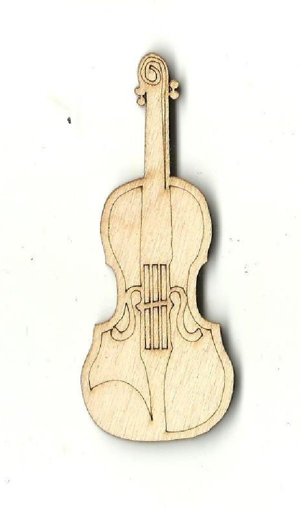 Violin - Laser Cut Wood Shape Msc13 Craft Supply
