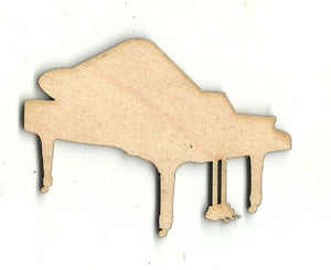 Piano - Laser Cut Wood Shape MSC39