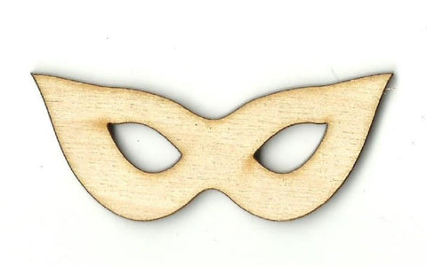 Masquerade Mask - Laser Cut Wood Shape Msk12 Craft Supply