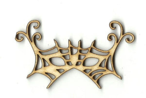 Mardi Gras Mask - Laser Cut Wood Shape Msk9 Craft Supply