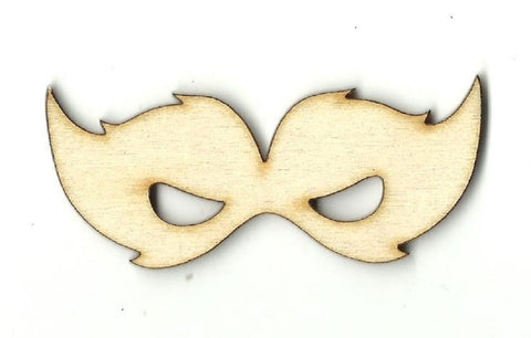 Masquerade Mask - Laser Cut Wood Shape Msk7 Craft Supply