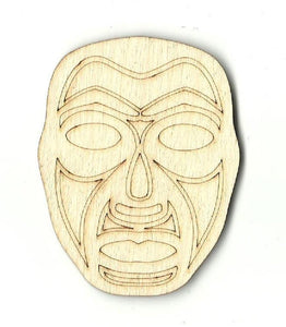 Masquerade Mask - Laser Cut Wood Shape Msk3 Craft Supply