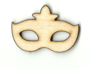 Masquerade Mask - Laser Cut Wood Shape Msk6 Craft Supply