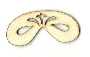 Masquerade Mask - Laser Cut Wood Shape Msk8 Craft Supply
