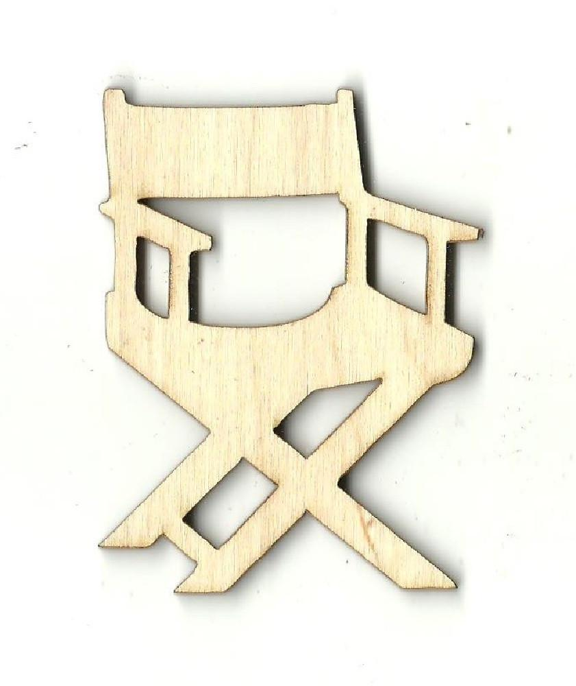 Directors Chair - Laser Cut Wood Shape Mve4 Craft Supply