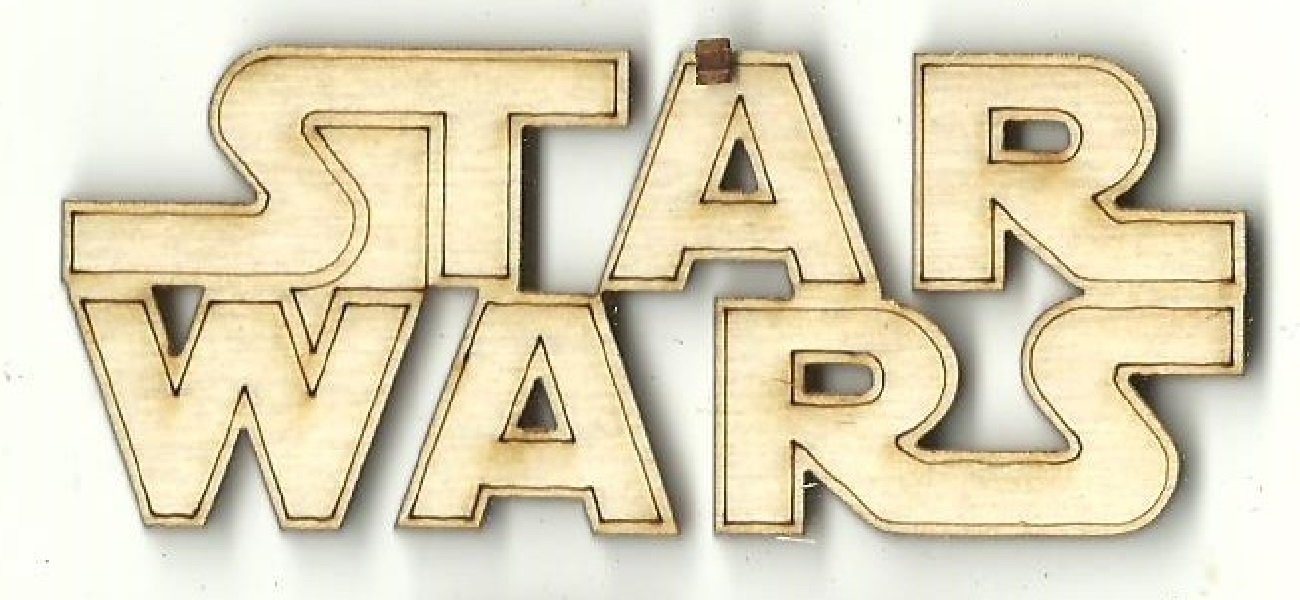 Star Wars - Laser Cut Wood Shape Mve59 Craft Supply