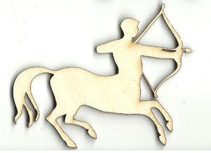 Centaur - Laser Cut Wood Shape Myth102 Craft Supply