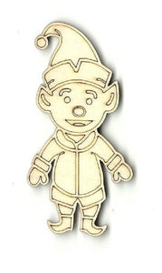 Elf - Laser Cut Wood Shape Myth12 Craft Supply