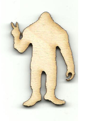 Big Foot - Laser Cut Wood Shape MYTH132