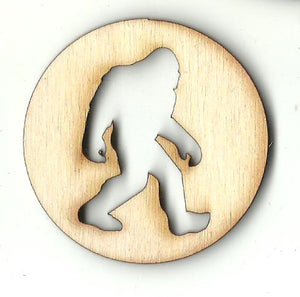 Bigfoot - Laser Cut Wood Shape MYTH134