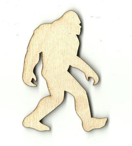 Big Foot - Laser Cut Wood Shape Myth26 Craft Supply