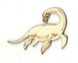 Loch Ness Monster - Laser Cut Wood Shape Myth28 Craft Supply