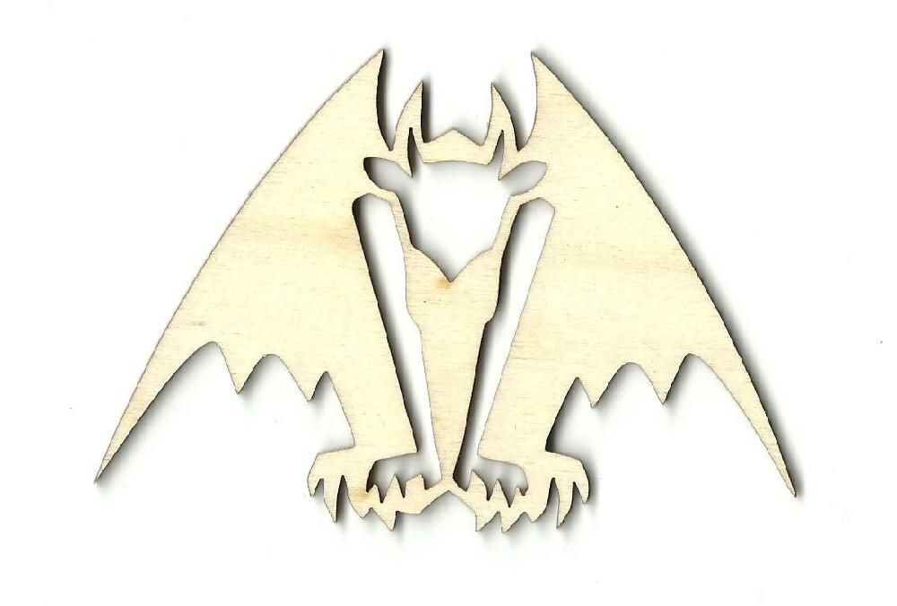 Gargoyle - Laser Cut Wood Shape Myth4 Craft Supply