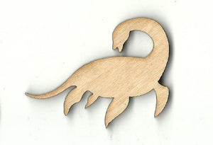 Loch Ness Monster - Laser Cut Wood Shape Myth53 Craft Supply