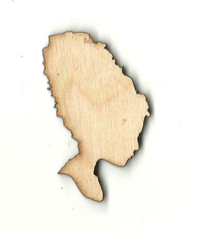 Bride Of Frankenstein - Laser Cut Wood Shape Myth68 Craft Supply