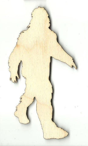 Bigfoot - Laser Cut Wood Shape Myth93 Craft Supply