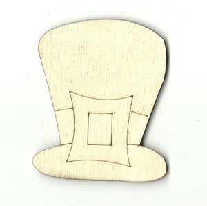 Leprechaun Hat - Laser Cut Wood Shape Pat1 Craft Supply