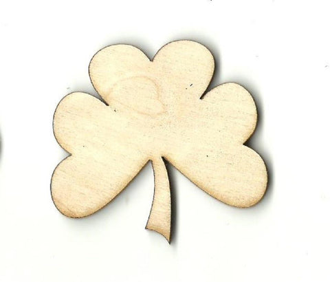 Clover - Laser Cut Wood Shape Pat3 Craft Supply