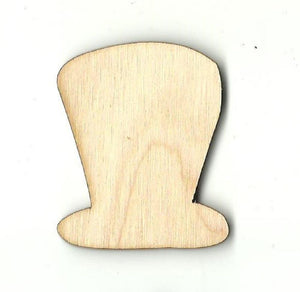 Leprechaun Hat - Laser Cut Wood Shape Pat4 Craft Supply