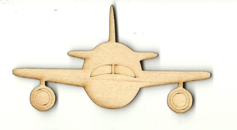 Airplane - Laser Cut Wood Shape Pln10 Craft Supply