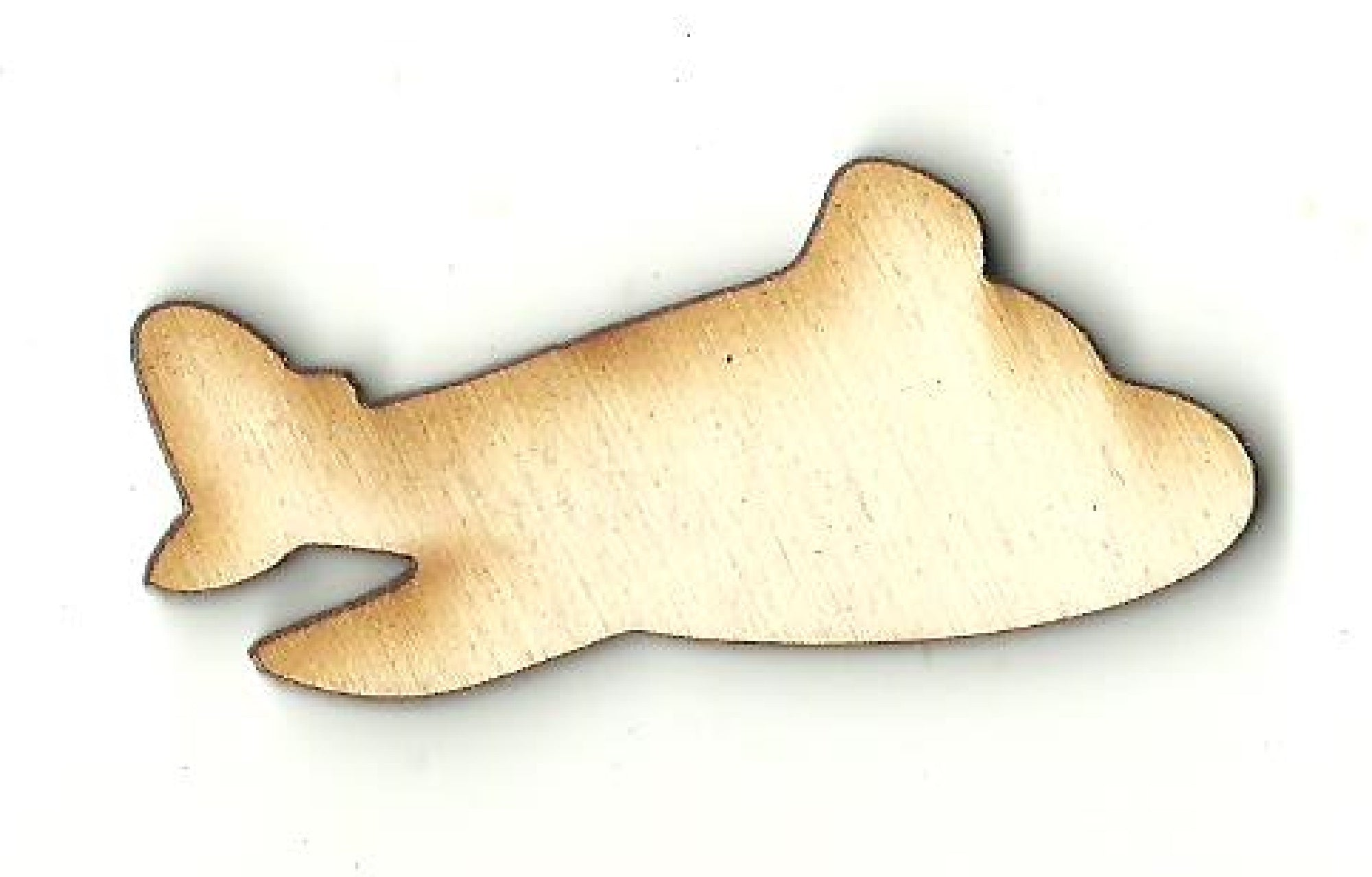 Airplane - Laser Cut Wood Shape PLN17