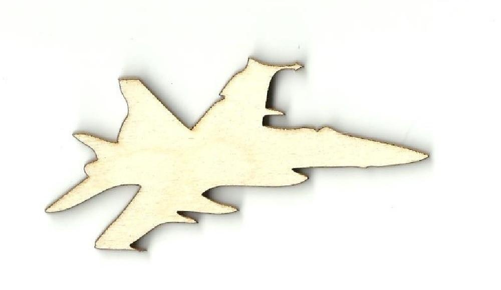 Jet - Laser Cut Wood Shape Pln2 Craft Supply