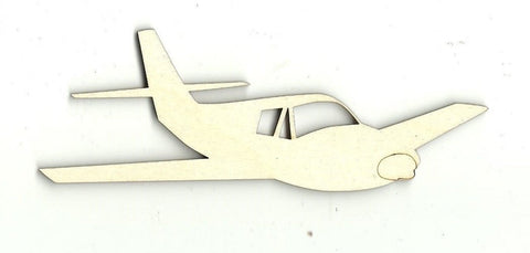 Airplane - Laser Cut Wood Shape Pln3 Craft Supply