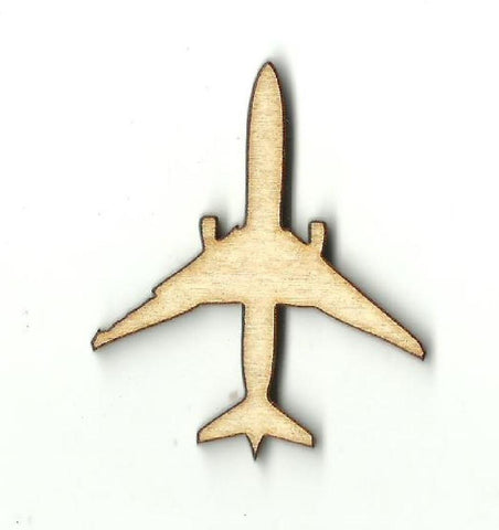 Airplane - Laser Cut Wood Shape Pln6 Craft Supply