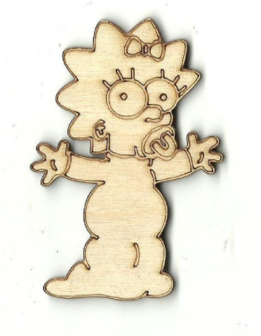 Baby - Laser Cut Wood Shape PPL19
