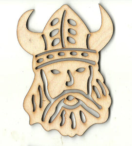 Viking - Laser Cut Wood Shape PPL233
